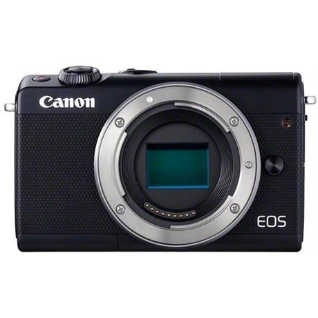 Canon EOS M100 Mirrorless Digital Camera Body in Black